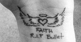 RIP Bullet Tattoo