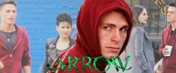 Bex Taylor-Klaus Snapped On ARROW Set